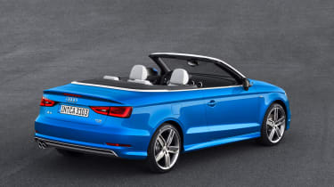 Audi A3 Cabriolet 2014 rear static