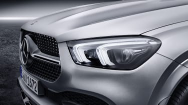2019 Mercedes GLE light