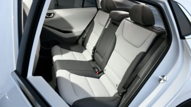 Hyundai Ioniq Hybrid rear seats