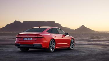 Audi PHEV A7 Sportback rear