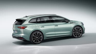 2021 Skoda Enyaq iV - rear 3/4 static