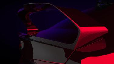 Alfa Romeo Giulia GTAm spoiler teaser