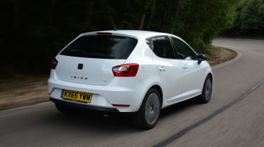 The Ibiza is a comfortable and satisfying car to drive