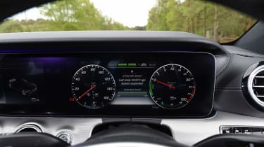 E350e models come with the COMAND Online infotainment system as standard....