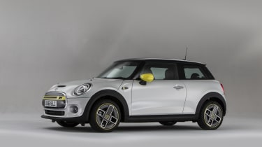MINI Electric - front 3/4 view