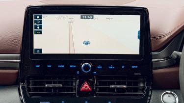 Hyundai Ioniq Hybrid review sat-nav