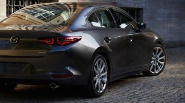 2019 Mazda3 saloon rear