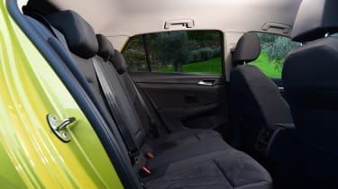 Volkswagen Golf hatchback rear seats