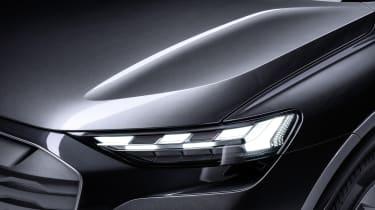 Audi Q4 Sportback e-tron headlight matrix