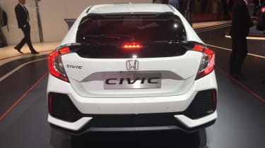 The New Civic gets unmistakeable styling inside and out