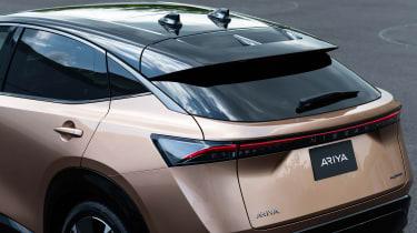 Nissan Ariya rear end detail