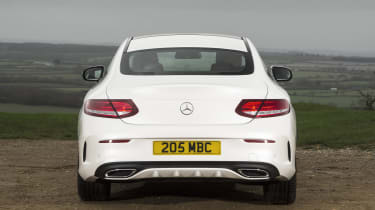 The four-wheel-drive C43 can get from 0-62mph in 4.7 seconds, while the C63 S takes just 3.9 seconds