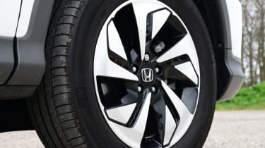 Top trim levels are fitted with 18-inch alloy wheels