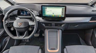 Cupra Born hatchback interior