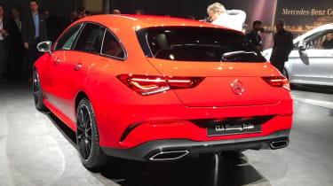 2019 Mercedes CLA Shooting Brake - Geneva - rear view