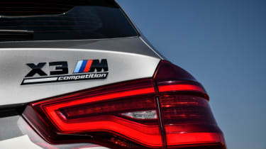 BMW X3 M Competition SUV rear lights