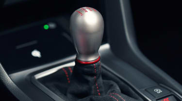 Honda Civic Type R gearlever