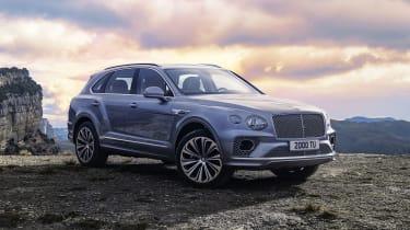 2020 Bentley Bentayga SUV - front 3/4 static