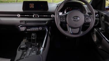 Toyota Supra coupe interior