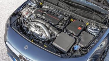 Mercedes-AMG A 35 Saloon engine bay