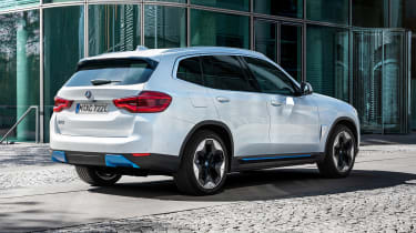 BMW iX3 - rear view