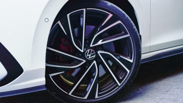Volkswagen Golf GTI hatchback alloy wheels