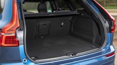 Volvo XC60 SUV luggage area