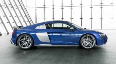 2019 Audi R8 Coupe side
