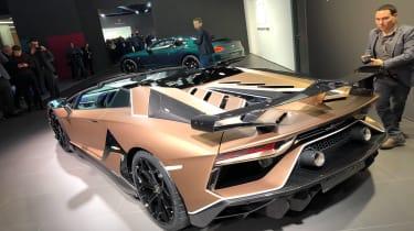 Lamborghini Aventador SVJ 2019 Geneva rear quarter