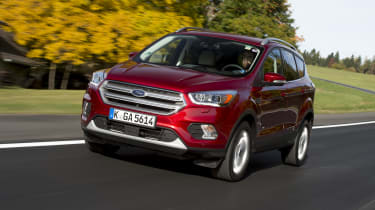 The Ford Kuga is Ford's entry to the midsize SUV market