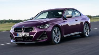 2021 BMW 2 Series Coupe - front 3/4 view