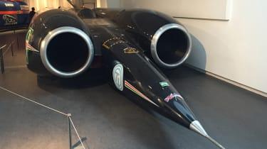 Thrust SSC record car