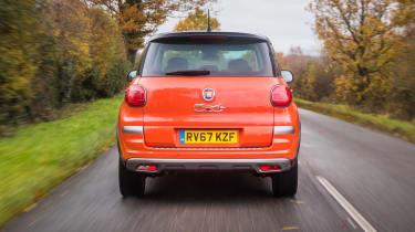 Fiat 500L rear end