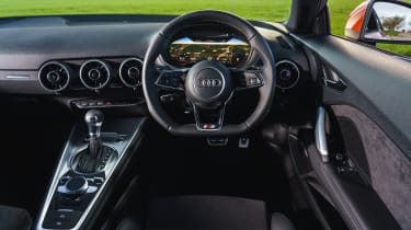 Audi TT Coupe dashboard