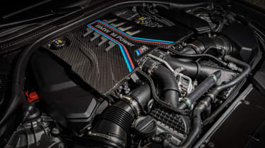 BMW M5 Competition - engine bay