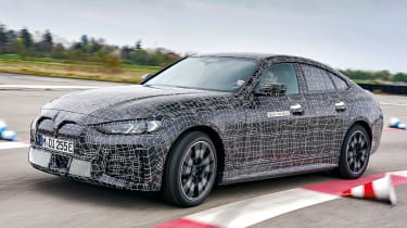 2021 BMW i4 M50 Prototype