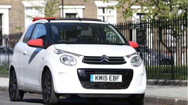 The Citroen C1 is the sister car to the Peugeot 108 (and the more expensive Toyota Aygo too)