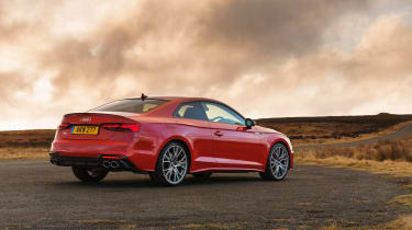 Audi S5 Coupe rear 3/4 static