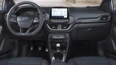 2020 Ford Puma - cabin wide view