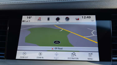 The cheapest route to sat nav is moving from Design to Design Nav trim, though this costs around £800