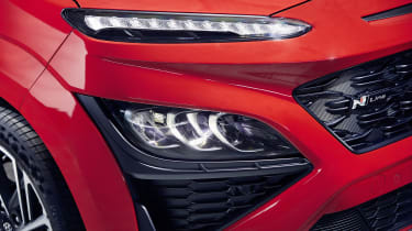 2020 Hyundai Kona N Line - Front headlight and daytime running light