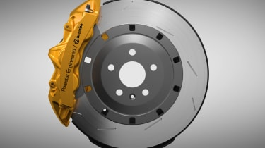 Engineered by Polestar brakes