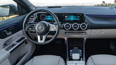 2020 Mercedes GLA interior