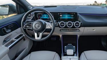 2020 Mercedes GLA interior