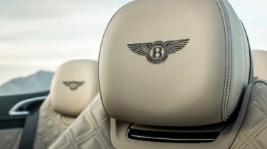 Bentley Continental GT Convertible headrest