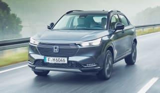 Honda HR-V SUV front 3/4 tracking