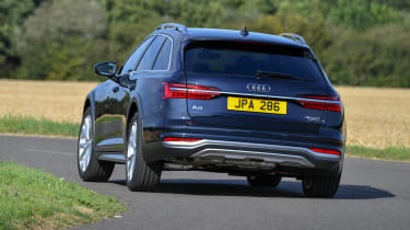 Audi A6 Allroad quattro estate rear cornering