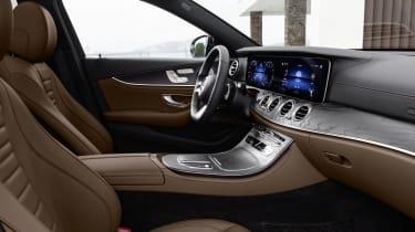 Mercedes E-Class interior - side view