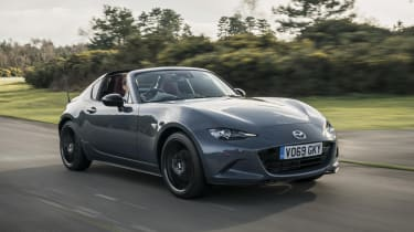 2020 Mazda MX-5 GT Sport Tech - front 3/4 dynamic