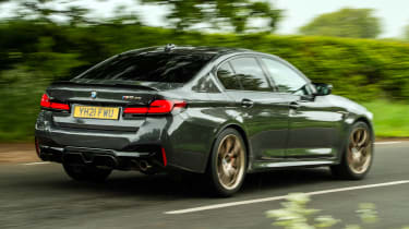 BMW M5 CS rear 3/4 tracking